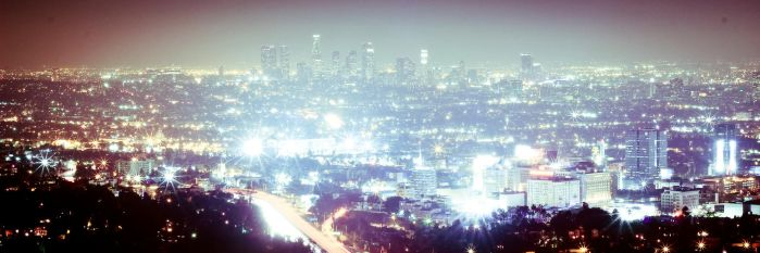 Los Angeles night... by anaelmasri