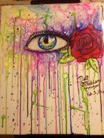 The Eye and the Red Rose by Sakura-Koi
