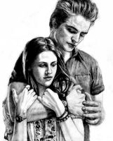 Edward and Bella by Cam-e