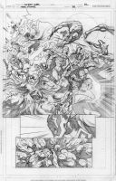 Teen Titans 76 p.12 pencils by Cinar
