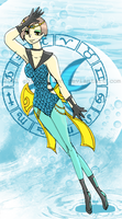 Art Trade: Sailor Pisces by Blue-and-Dog