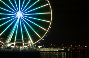 Ferry Wheel by BeckaMarr