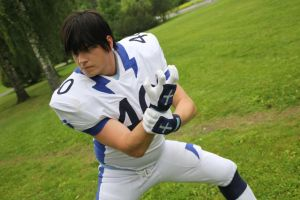 Eyeshield 21 Shin Seijuro - Animecon XI 2014 by Tappajapappi