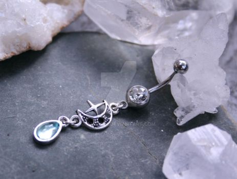 Lune Rey - Navel Ring by Avelith