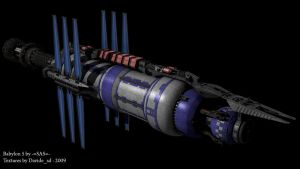Babylon 5 wip by Davide-sd