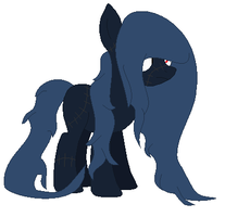 Custom puppet pony for lavenderine by CoolUsernameIsHere