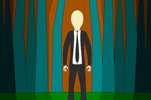 The Slender Man by jasonde2