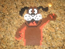 Duck Hunt Dog Bead Sprite by WickedAwesomeMario81