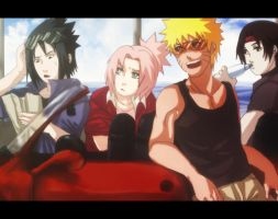 team 7: road trip by Nishi06