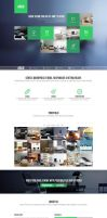 Argo - One Page Portfolio PSD Template by DarkStaLkeRR