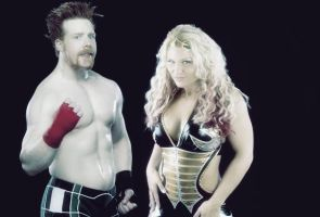 Sheamus and Beth Phoenix by verusImmortalis