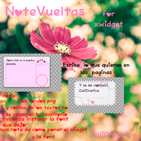 NoteVueltas para xwidget by LaliCreative