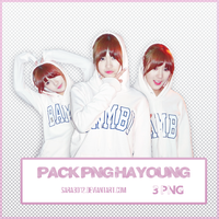 PACK PNG HA YOUNG APINK by sara3012