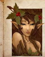Dryad by Izabella
