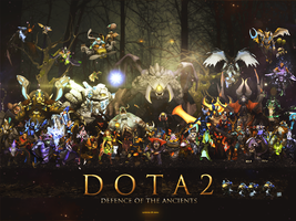Dota 2 Wallpaper by Cyclomza