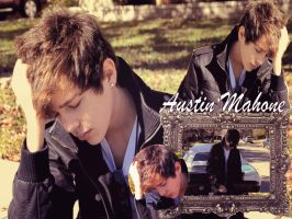 Wallpaper Austin Mahone by MrsMahone