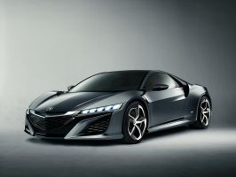2013 Acura NSX Concept by ThexRealxBanks