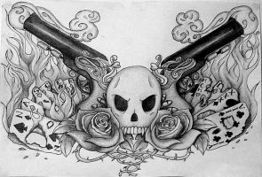 Commission: Tattoo by RedFeathers