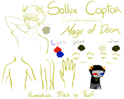 Homestuck Files - Sollux by Pochiii