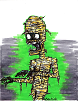 the mummy by the-bellas-mortes