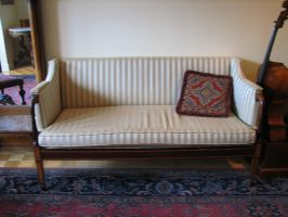 Victorian Couch I by LithiumStock
