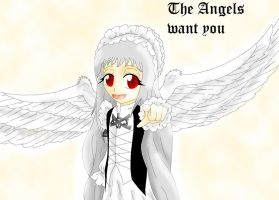 The Angels Want You by Haoxannaxyoh