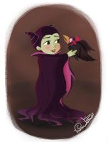 Little Villain Maleficent by Vijolea