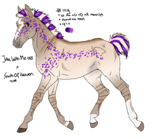 1119 Padro Foal Design for Feya-san by KimboKah
