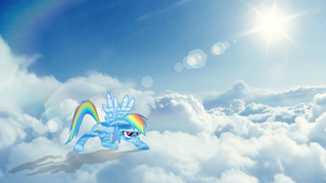 Natural Habitat Rainbow Dash by BronyNeighToZ