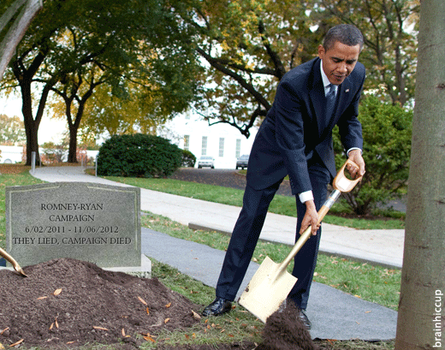 Burying Romney's Campaign by brainhiccup