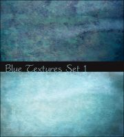 Blue Textures Set 1 by ibjennyjenny