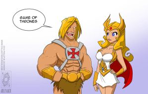 By the Perversion of Greyskull by jollyjack