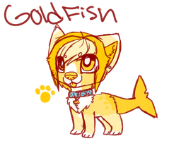 Gold Fish by xXfrosted-lightsXx