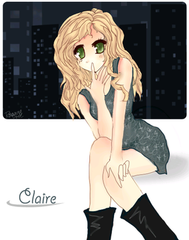 Claire by Roxanne-Chan