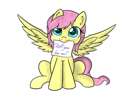 Fluttershy - Will you love me? by Fluttershy-Wins