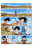 Goku vs... Page1 by mikemaluk