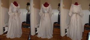 silver chemise by LadyCafElfenlake