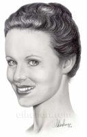 Thora Birch Portrait by AthenaTT