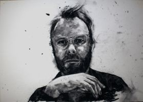 Matt Berninger Charcoal Portrait by StefanRess