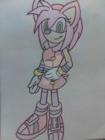 Amy (art trade ) by angiegarcia36