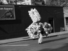 balloon man by myoung4828