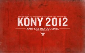 Kony 2012 Wallpaper by Angelmaker666