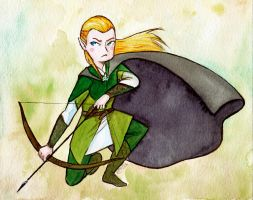 Contest Prize - Legolas Greenleaf by LaraInPink