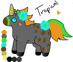 Hatchling ''Tropical' by opadopts