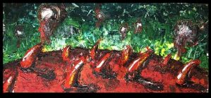 Red Sin Planet by pagone