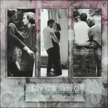 Photopack 2172 - Lily Collins And Sam Claflin by xbestphotopackseverr
