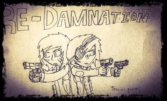 Re-Damnation - Cover by TheRocketterGhost