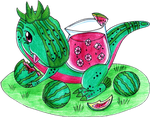 Tea Rex by JovySanchez02