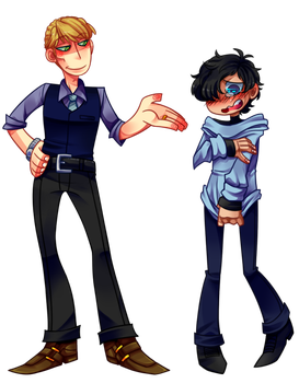 Richard/Daniel - Simple Style by Krooked-Glasses