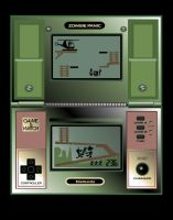 Zombie Panic Game and Watch by Eyemelt